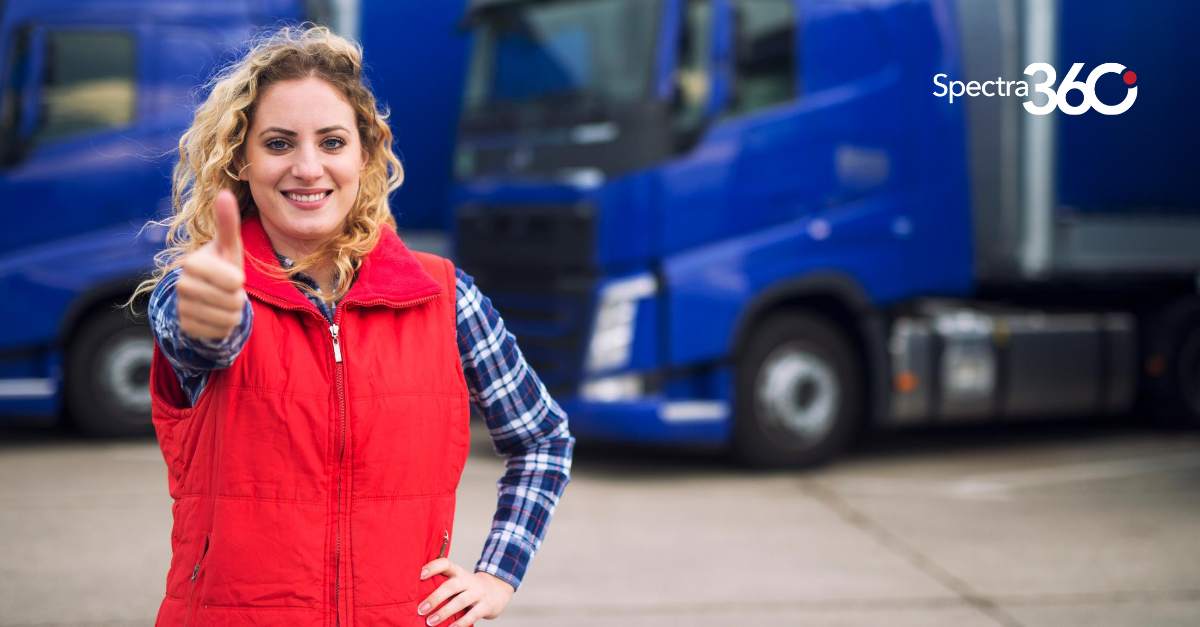 Female Truckers On The Road