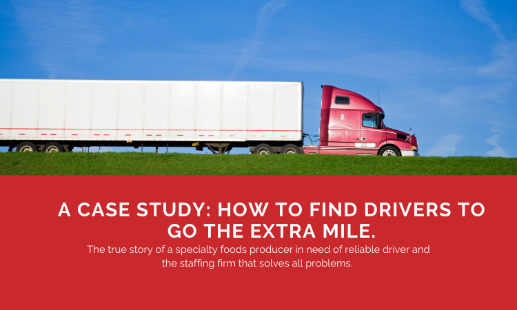 A Case Study: How To Find Drivers To Go The Extra Mile.