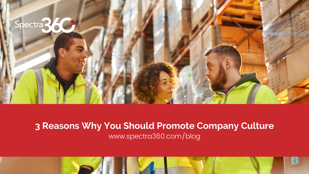 Reasons Why You Should Promote Company Culture
